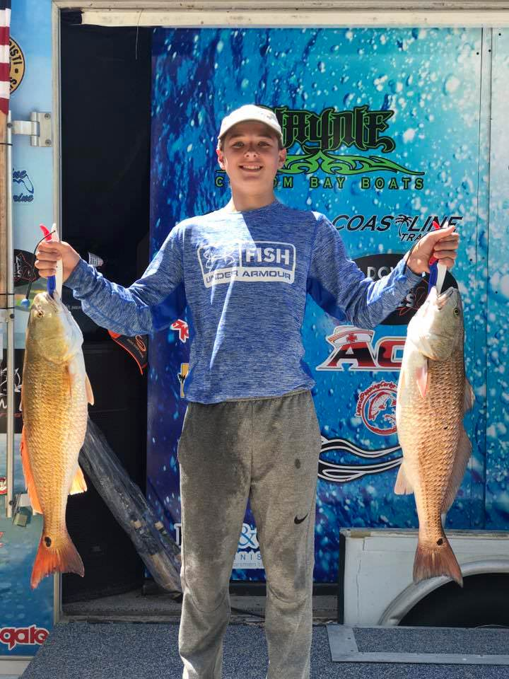 HSJAA N. RR April 23 2017 !st place Fish on Jr. Artificial
